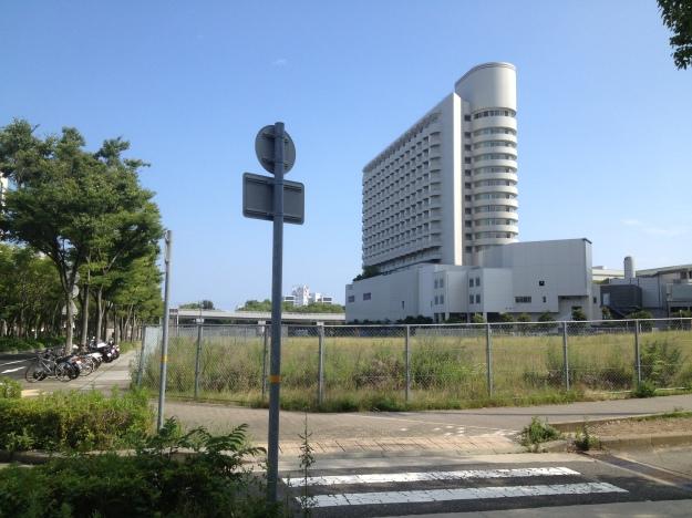 神戸ポートアイランド-ホテル付近空き地